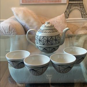Chinese Ceramic Tea Set